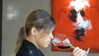 Cecilia Guedes, Sumiller del Roca Moo, de los Hermanos Roca